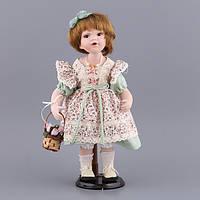 """Кукла фарфоровая 38 см. """"Аннушка"""""""