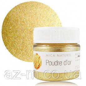 Слюда Золотая (Mica poudre d'or), 10 г
