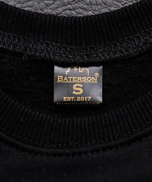 Свитшот Baterson черный, фото 2