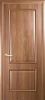 Межкомнатные двери Интера DeLuxe Вилла глухое ( золотая ольха, каштан, ясень )