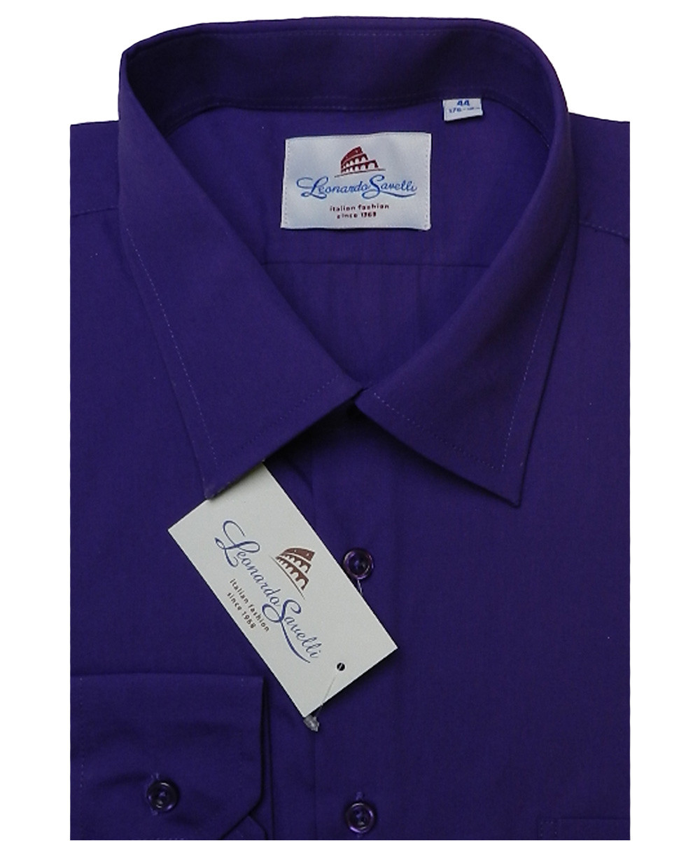 Рубашка мужская ботал  Leonardo Savelli 2593