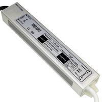 Блок питания 18W для светодиодной ленты DC12 1,67А WP герметичный, алюминиевый