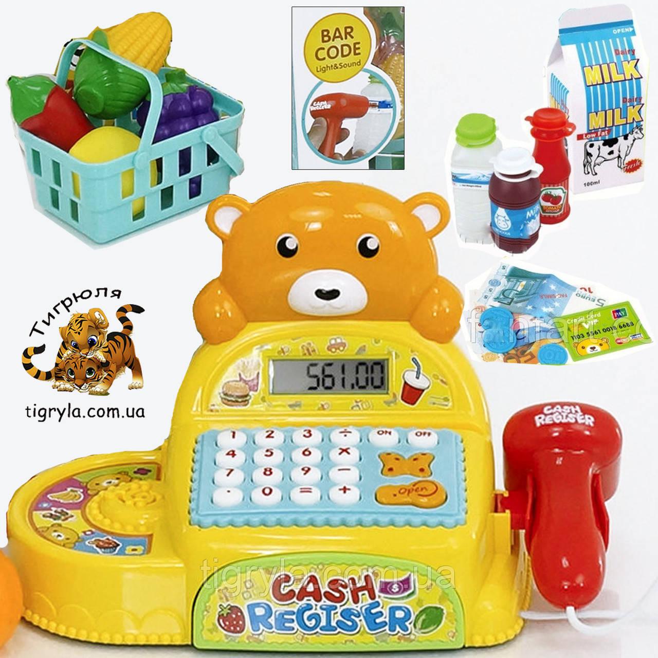 Кассовый аппарат детский игровой набор Касса детская Игрушка магазин детский игровой набор