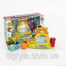 Кассовый аппарат детский игровой набор Касса детская Игрушка магазин детский игровой набор, фото 2
