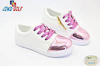 Детские слипоны оптом. Спортивная обувь для девочек от производителя Jong-Golf C503-8 (8пар 31-36)