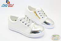 Детские слипоны оптом. Спортивная обувь для девочек от производителя Jong-Golf C503-19 (8пар 31-36)