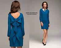 Платье  с большим бантом на спине (р-р 42-46), любой цвет