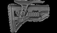 Приклад складной FAB для M4, с амортизатором, регулируемая щека, планка Пикатини, фото 1