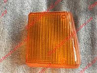 Рассеиватель (стекло) заднего поворотника заз 1102 таврия правый желтый старого образца (на саморезах), фото 1