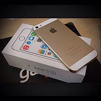 """Смартфон Apple Iphone 5s 4 ядра 4"""" 32/2 GB 8/2 Мп металл gold золото Гарантия!"""