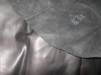 Кожа обувная натуральная  чёрная  матовая ВРХ