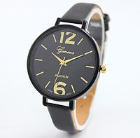 Часы женские на руку Geneva (Black)