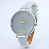 Часы женские на руку Geneva (White)