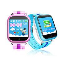 Детские умные часы с GPS трекером Q750 (Q100S). Подробнее: http://smart-shopping.com.ua/p445355559-detskie-umnye-chasy.html