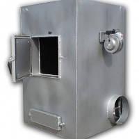 Печь воздушного отопления на твердом топливе с автоматикой
