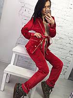 Шикарная бархатная пижама, тренд 2016-2017