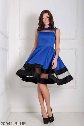 Вечірнє синє плаття Darian
