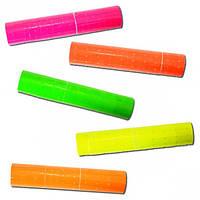 Цветной ценник для этикет-пистолета «белый» 10 катушек по 500шт лента для этикет-пистолета