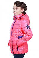 Демисезонная куртка для девочки, расцветки разные