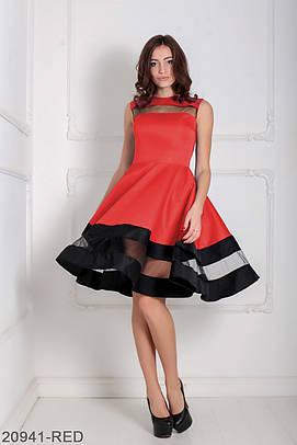 Вечірнє червоне плаття Darian