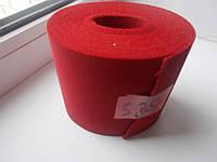 Резинка обувная красная  100 мм