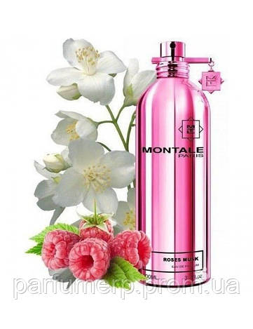 MONTALE ROSES MUSK 100ml (тестер) Унисекс парфюм, Парфюмированная вода, Нишевая парфюмерия - Оригинал!!!  100ml TESTER