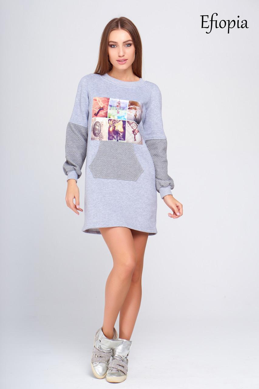 2df8b5529dd Молодежное теплое платье Эфиопия - DS Moda - женская одежда оптом от  производителя в Харькове