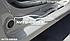 Накладки на пороги Dacia Logan II 2008-2012, фото 3