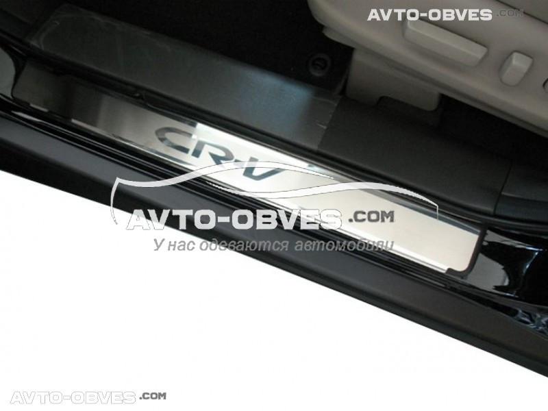 Накладки на пороги Honda CR-V 2016-2017