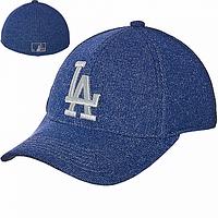 Кепка бейсболка синяя LA