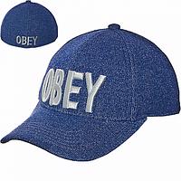Бейсболка козырек Obey