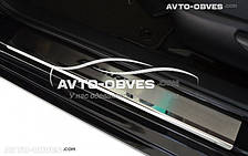 Накладки на внутренние пороги Toyota Camry V50