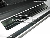 Накладки на внутренние пороги Chevrolet Cruze 4D/5D