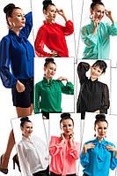 Блузка Piana, шифон, 8 кольорів