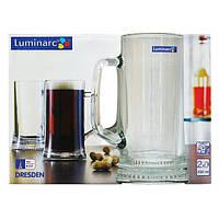 Набор бокалов для пива Luminarc Dresden 5112 330 м,2 шт