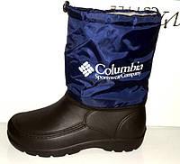 Сапоги дутики мужские Columbia зимние C0017