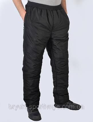 Брюки мужские Nike зима  плащёвка больших размеров, фото 2