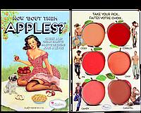 The Balm Palettes How Bout Them Apples Palette - Палетка кремовых румян и помад, 20 г