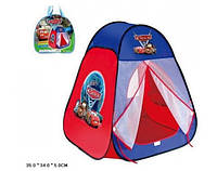 """Палатка 811S """"Тачки""""в сумке 35*34*5см"""