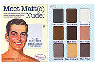 The Balm Palettes Meet Matte Nude Eyeshadow Palette - Палетка теней, 25.5 г