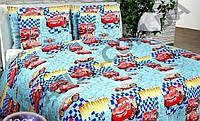 Детский полуторный комплект Такси, бязь Голд