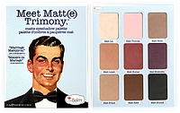 The Balm Palettes Meet Matte Trimony - Палетка теней, 21.6 г