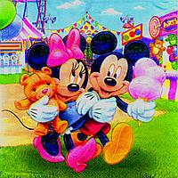 "Салфетки бумажные ""Mickey Mouse & Minnie Mouse"". В упак: 20 шт."