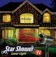 Лазерный Проектор  Star Shower Laser Light (световая гирлянда на дом, мини лазер Стар Шовер)