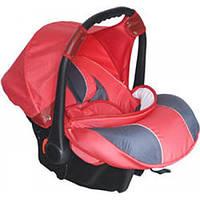 BabyPark Автокресло BabyPark A0621 (розово-графитовый)