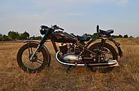 Легендарный советский мотоцикл ИЖ-49