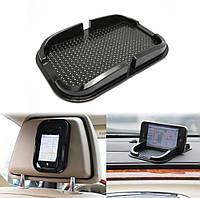 Силиконовый коврик держатель для телефона, GPS, смартфона, липкий коврик антискольжения