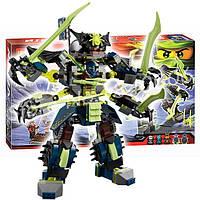 Конструктор Bela Ninja (аналог Lego Ninjago) 10399 Битва Титановых Роботов 757 деталей
