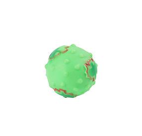 Игрушка для собак Мяч с кленовым листом, 8см