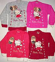 Вязанный свитер с Hello Kitty 3,5,7 лет